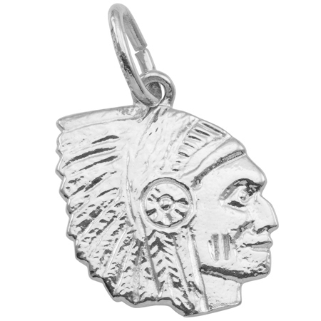 Sterling Silver Native American Charm by Rembrandt Charms