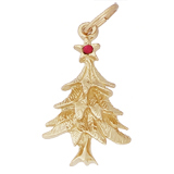 14K Gold Christmas Tree Charm by Rembrandt Charms