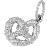 Sterling Silver Pretzel Charm by Rembrandt Charms