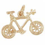 10K Gold Mountain Bike Charm by Rembrandt Charms