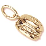 14K Gold Cheeseburger Charm by Rembrandt Charms