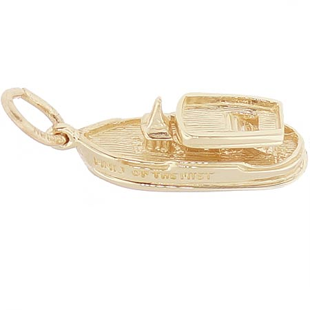 Gold Plate Maid of the Mist Charm by Rembrandt Charms