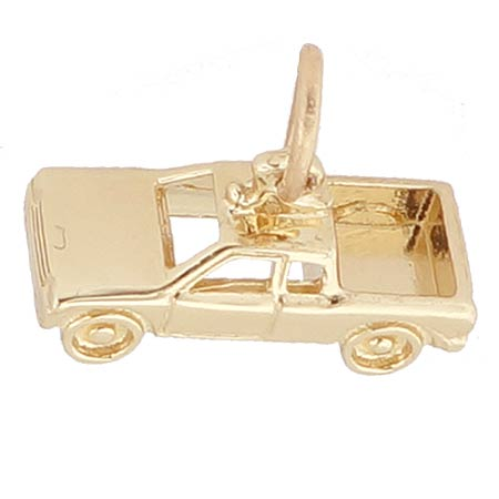 14k Gold Pickup Truck Charm by Rembrandt Charms