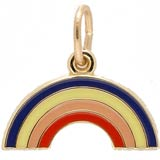 14k Gold Rainbow Charm by Rembrandt Charms
