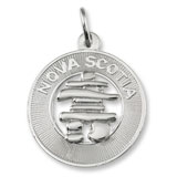 Sterling Silver Nova Scotia Inukshuk Ring Charm by Rembrandt Charms