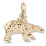 10K Gold Polar Bear Charm by Rembrandt Charms