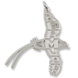 Sterling Silver Bermuda Longtail Charm by Rembrandt Charms
