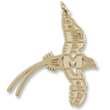 14K Gold Bermuda Longtail Charm by Rembrandt Charms