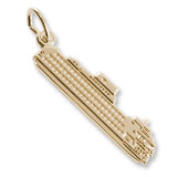 14K Gold Staten Island Ferry Charm by Rembrandt Charms