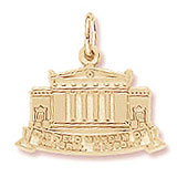 Gold Plated Field Museum Charm by Rembrandt Charms