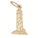 14K Gold Peggy's Cove Lighthouse Charm by Rembrandt Charms