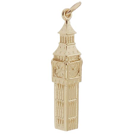 14K Gold Big Ben Charm by Rembrandt Charms