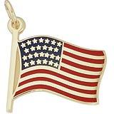 USA Flag Charm