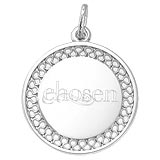 Sterling Silver Chosen Disc 10th Anniversary by Rembrandt Charms