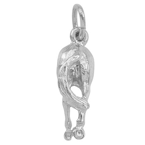 Sterling Silver Horses Behind Charm by Rembrandt Charms