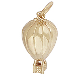 14K Gold Hot Air Balloon Ride Charm by Rembrandt Charms