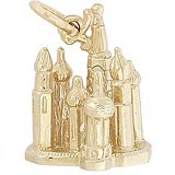 14k Gold St Basil's Cathedral Charm by Rembrandt Charms