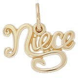 10k Gold Niece Charm by Rembrandt Charms