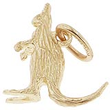 10K Gold Kangaroo Charm by Rembrandt Charms