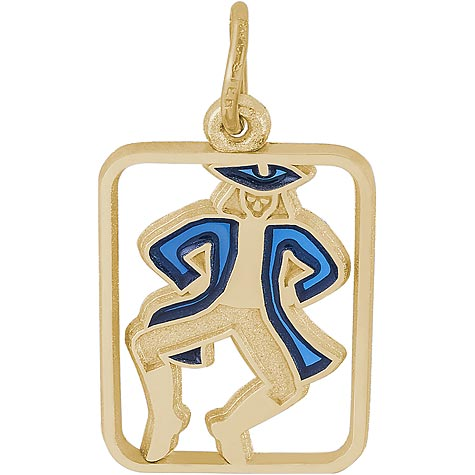 14K Gold The 12 Days of Christmas Day 10 by Rembrandt Charms