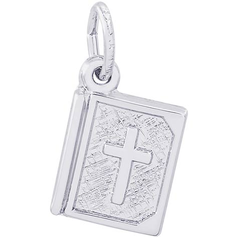 Sterling Silver Bible Accent Charm by Rembrandt Charms