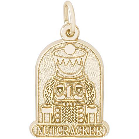 10k Gold Nutcracker Charm by Rembrandt Charms
