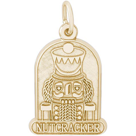 14k Gold Nutcracker Charm by Rembrandt Charms