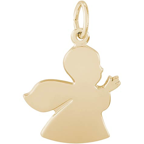 14K Gold Angel Charm by Rembrandt Charms