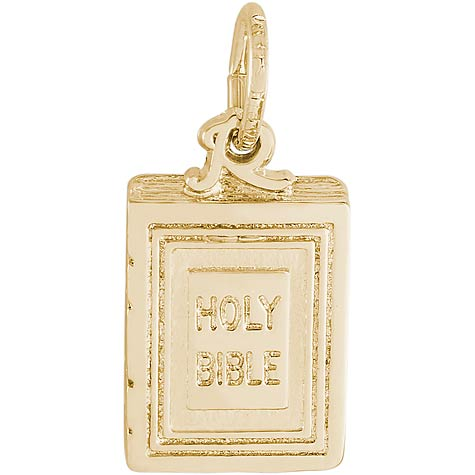 14k Gold Holy Bible Charm by Rembrandt Charms