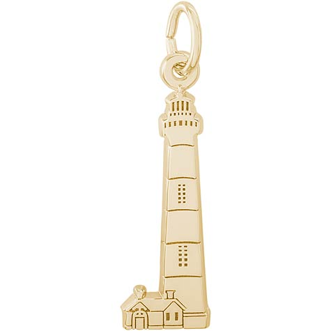 14K Gold Bodie Island Lighthouse Charm by Rembrandt Charms