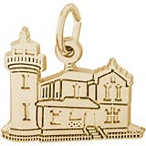 10K Gold Admiralty Head, WA Lighthouse by Rembrandt Charms