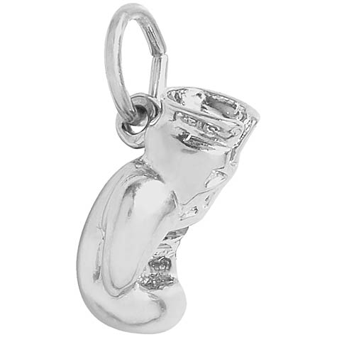 14K White Gold Boxing Glove Charm by Rembrandt Charms