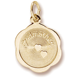 10K Gold Godmother Charm by Rembrandt Charms
