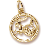 Capricorn Goat Charm