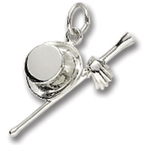 Sterling Silver It's Showtime Charm by Rembrandt Charms