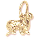 Gold Plate Sea Lion Charm by Rembrandt Charms