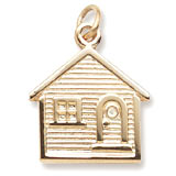 10K Gold House Charm by Rembrandt Charms