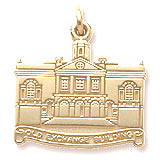 14K Gold Old Exchange Building Charm by Rembrandt Charms