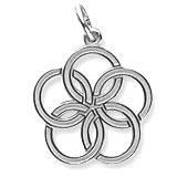 Sterling Silver The 12 Days of Christmas Day 5 by Rembrandt Charms