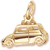 14K Gold Classic British Car Charm by Rembrandt Charms