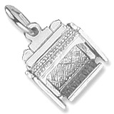 14K White Gold Organ Charm by Rembrandt Charms