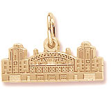 10K Gold Navy Pier Charm by Rembrandt Charms