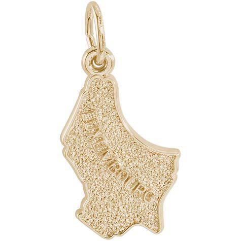 14K Gold Luxembourg Charm by Rembrandt Charms
