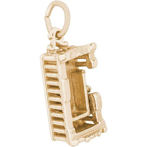 14k Gold Parthenon Charm by Rembrandt Charms