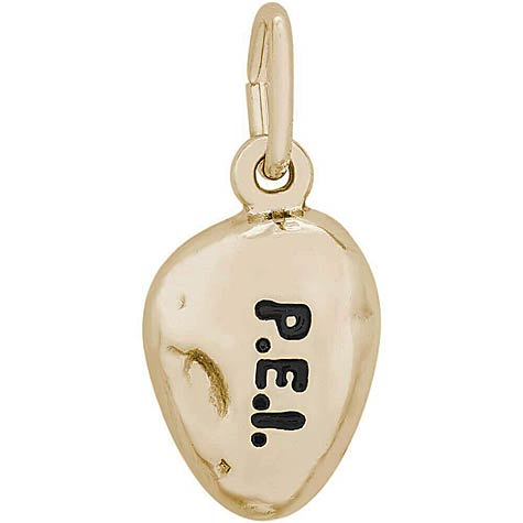 14K Gold Prince Edward Is. Potato Charm by Rembrandt Charms