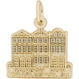 10K Gold Rainbow Row Charm by Rembrandt Charms