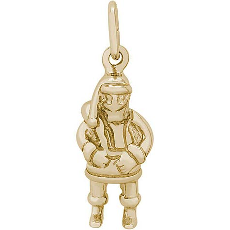 14K Gold Santa Clause Charm by Rembrandt Charms