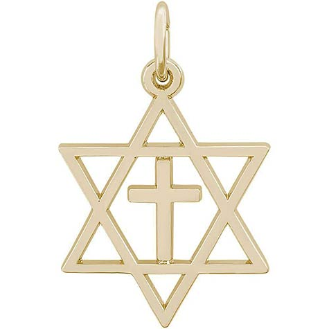 14K Gold Interfaith Symbol Charm by Rembrandt Charms