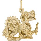 14K Gold Dragon Charm by Rembrandt Charms