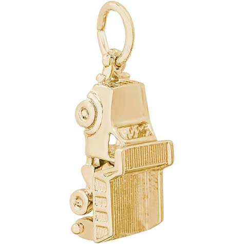 14k Gold Dump Truck Charm opens by Rembrandt Charms